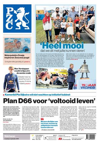 Provinciale Zeeuwse Courant 2019-09-02