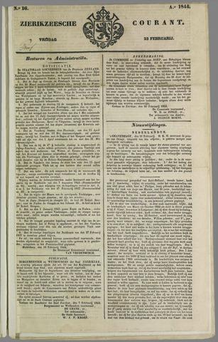 Zierikzeesche Courant 1844-02-23