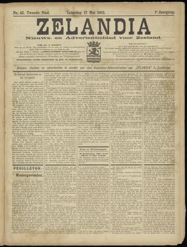 Zelandia. Nieuws-en advertentieblad voor Zeeland | edities: Het Land van Hulst en De Vier Ambachten 1902-05-17