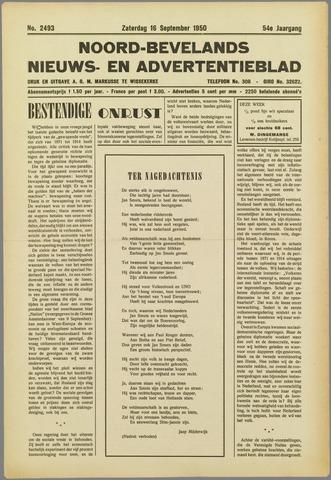 Noord-Bevelands Nieuws- en advertentieblad 1950-09-16