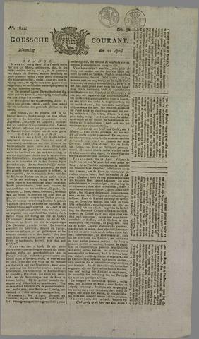 Goessche Courant 1822-04-22