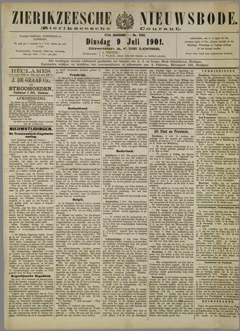 Zierikzeesche Nieuwsbode 1901-07-09