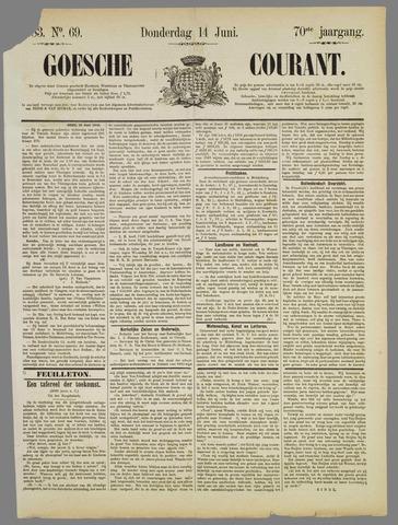 Goessche Courant 1883-06-14