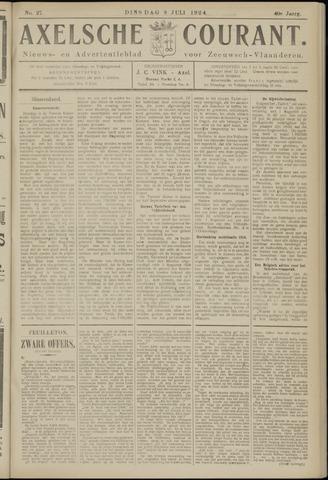 Axelsche Courant 1924-07-08
