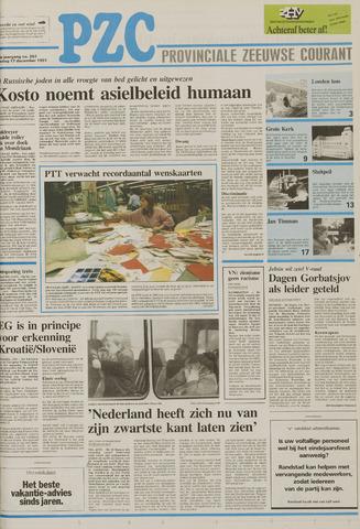 Provinciale Zeeuwse Courant 1991-12-17