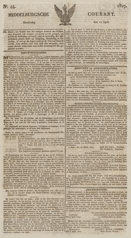 Middelburgsche Courant 1827-04-12