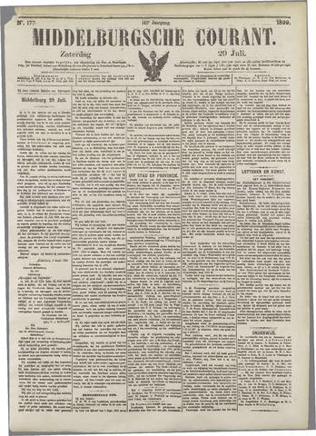Middelburgsche Courant 1899-07-29
