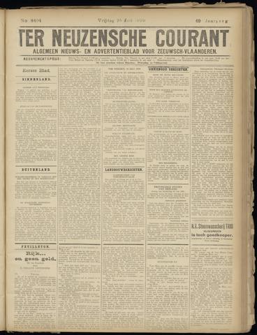 Ter Neuzensche Courant. Algemeen Nieuws- en Advertentieblad voor Zeeuwsch-Vlaanderen / Neuzensche Courant ... (idem) / (Algemeen) nieuws en advertentieblad voor Zeeuwsch-Vlaanderen 1929-07-26