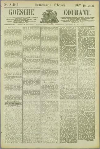 Goessche Courant 1915-02-11