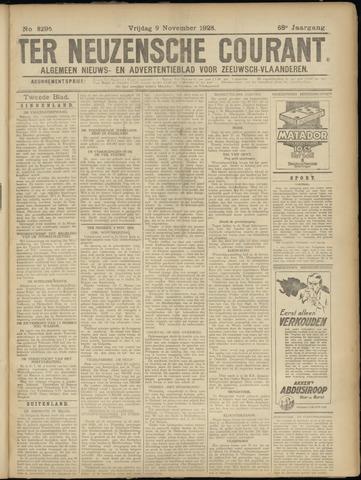 Ter Neuzensche Courant. Algemeen Nieuws- en Advertentieblad voor Zeeuwsch-Vlaanderen / Neuzensche Courant ... (idem) / (Algemeen) nieuws en advertentieblad voor Zeeuwsch-Vlaanderen 1928-11-09