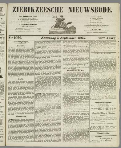 Zierikzeesche Nieuwsbode 1863-09-05