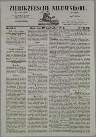 Zierikzeesche Nieuwsbode 1874-09-19