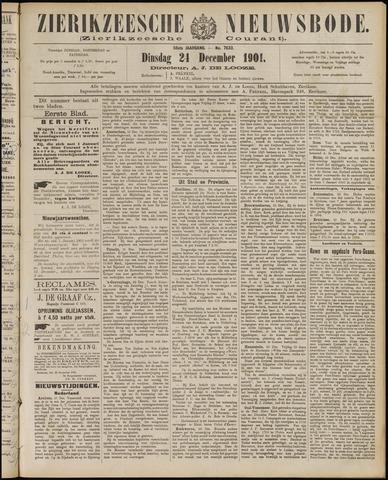 Zierikzeesche Nieuwsbode 1901-12-24