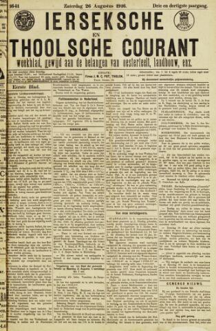 Ierseksche en Thoolsche Courant 1916-08-26