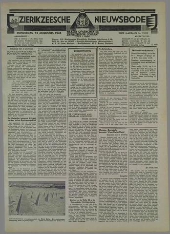 Zierikzeesche Nieuwsbode 1942-08-13