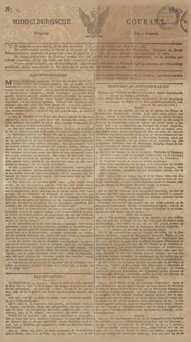 Middelburgsche Courant 1827