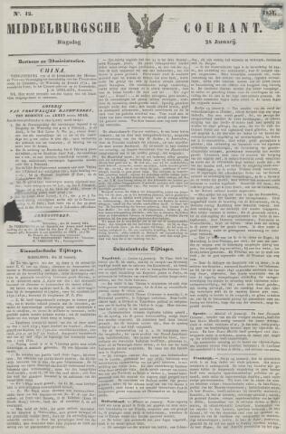 Middelburgsche Courant 1851-01-28