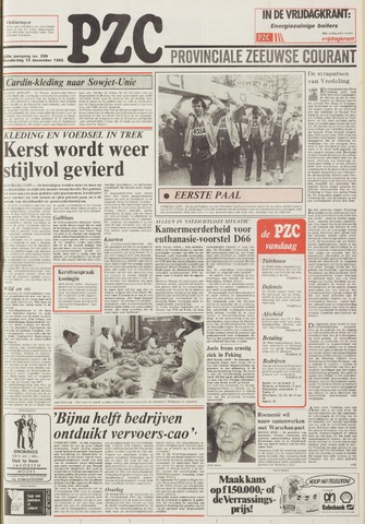 Provinciale Zeeuwse Courant 1985-12-19