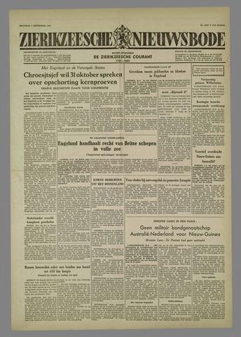 Zierikzeesche Nieuwsbode 1958-09-01
