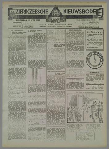Zierikzeesche Nieuwsbode 1937-04-22