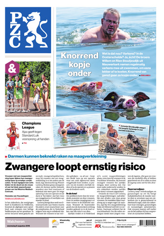 Provinciale Zeeuwse Courant 2018-08-08