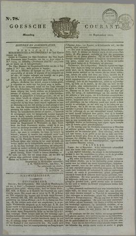 Goessche Courant 1833-09-30