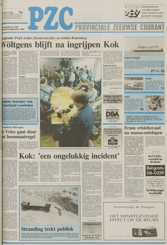 Provinciale Zeeuwse Courant 1993-09-18