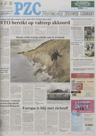 Provinciale Zeeuwse Courant 2005-12-19