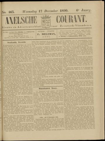 Axelsche Courant 1890-12-17
