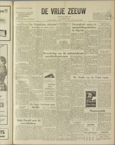 de Vrije Zeeuw 1959-04-21