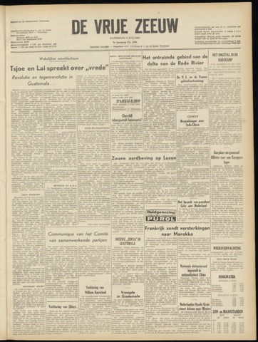 de Vrije Zeeuw 1954-07-03