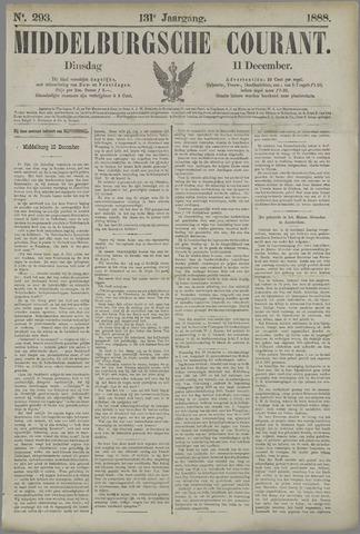 Middelburgsche Courant 1888-12-11