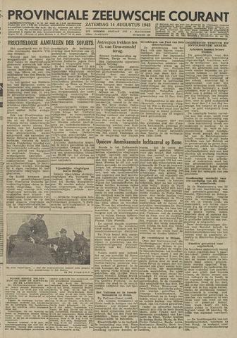 Provinciale Zeeuwse Courant 1943-08-14