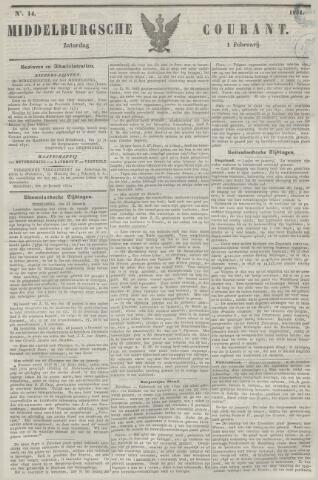 Middelburgsche Courant 1851-02-01