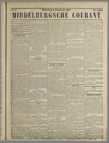 Middelburgsche Courant 1919-02-08