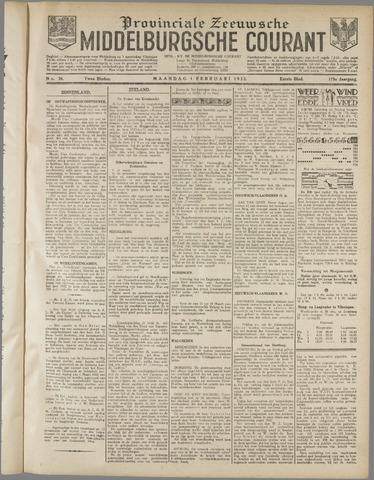 Middelburgsche Courant 1932-02-01