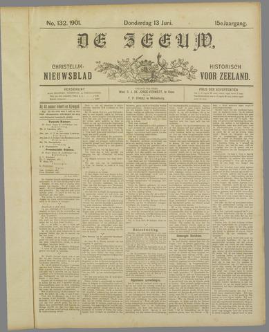 De Zeeuw. Christelijk-historisch nieuwsblad voor Zeeland 1901-06-13