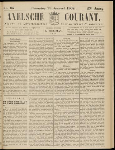 Axelsche Courant 1908-01-29