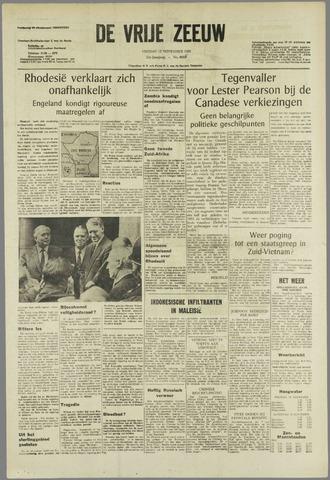de Vrije Zeeuw 1965-11-12