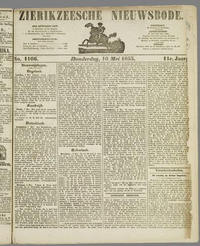 Zierikzeesche Nieuwsbode 1855-05-10