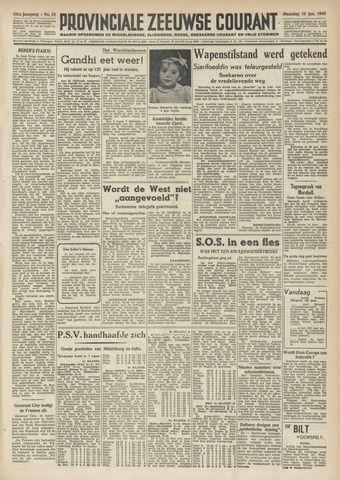 Provinciale Zeeuwse Courant 1948-01-19