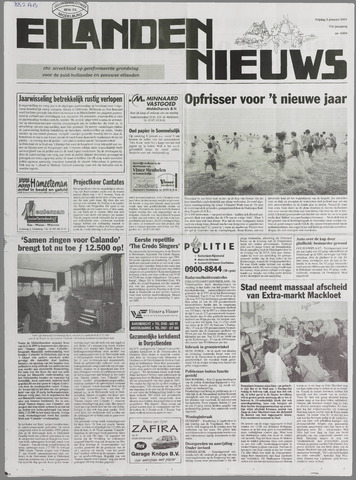 Eilanden-nieuws. Christelijk streekblad op gereformeerde grondslag 2001