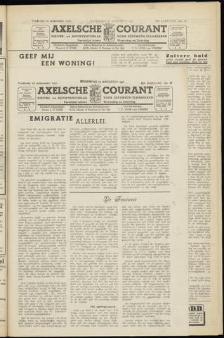 Axelsche Courant 1951-08-15