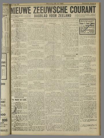 Nieuwe Zeeuwsche Courant 1920-07-28
