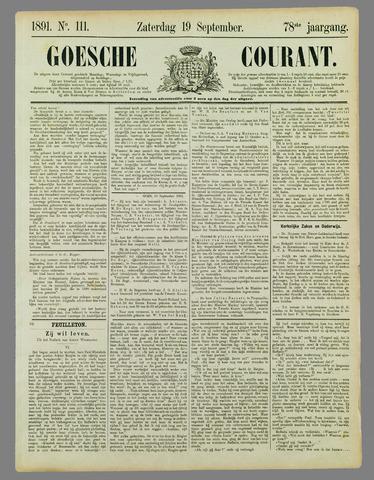 Goessche Courant 1891-09-19