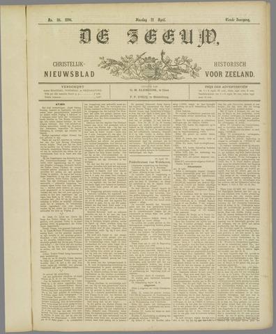 De Zeeuw. Christelijk-historisch nieuwsblad voor Zeeland 1896-04-21