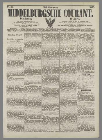 Middelburgsche Courant 1895-04-11