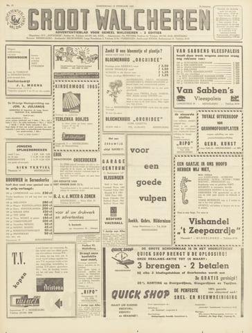 Groot Walcheren 1965-02-25