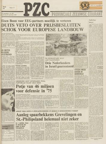 Provinciale Zeeuwse Courant 1974-09-26