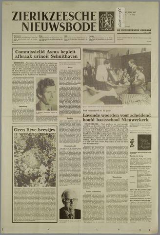 Zierikzeesche Nieuwsbode 1987-07-07